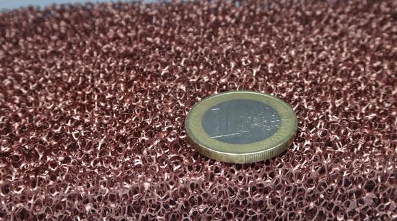 silent power copper foam