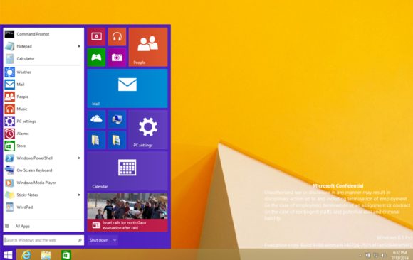 POSSIBLE FEATURES AND IMAGES OF WINDOWS 9 LEAKS Startmenu-win9-100360568-large