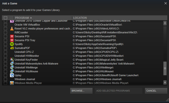 add non steam game to library