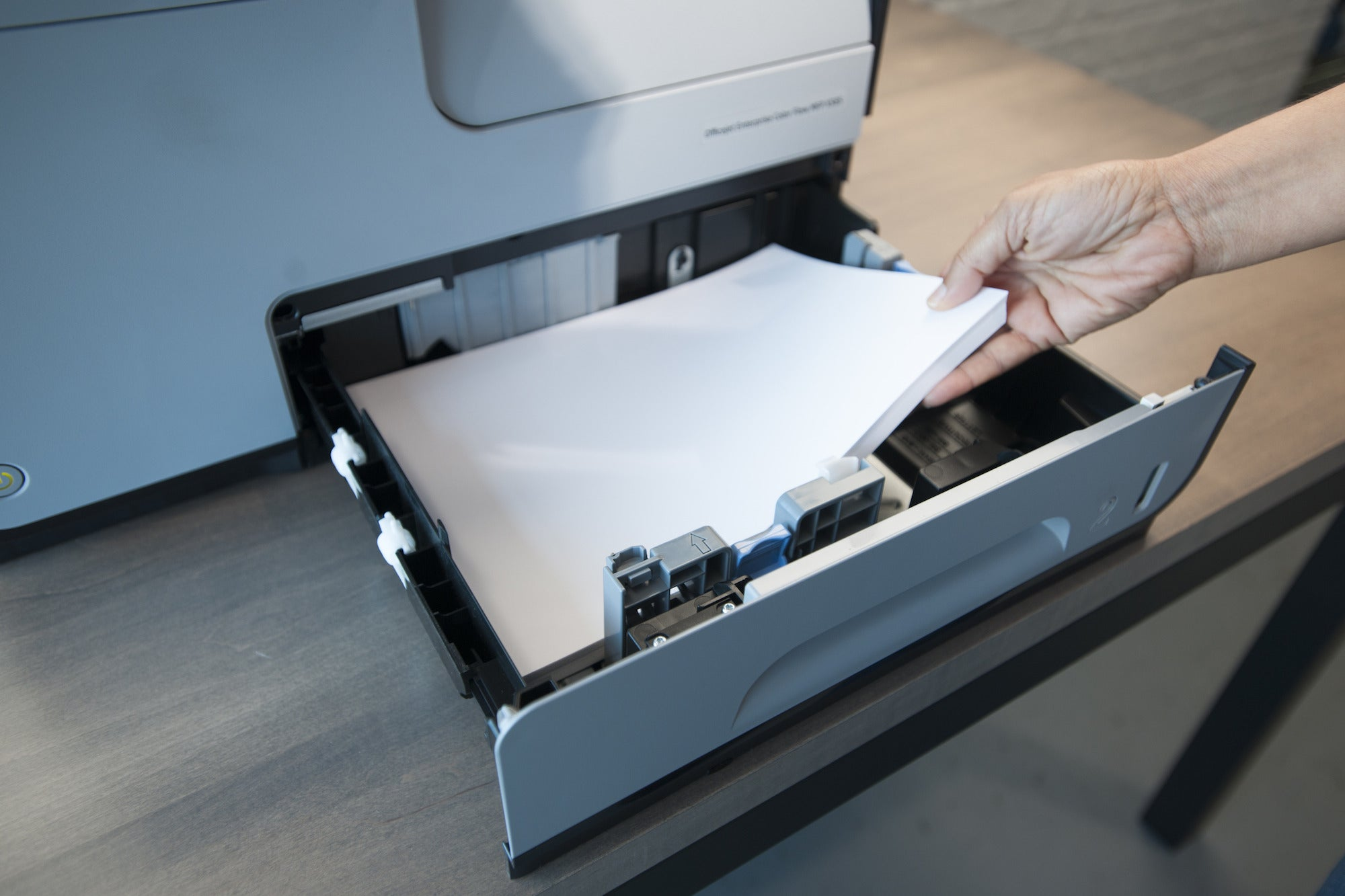 Color printing cost per page in india - Hp Officejet Pro X585 Input Tray