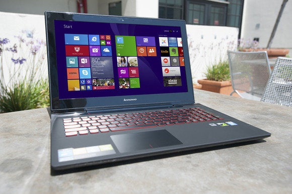 Lenovo Y50 gaming laptop