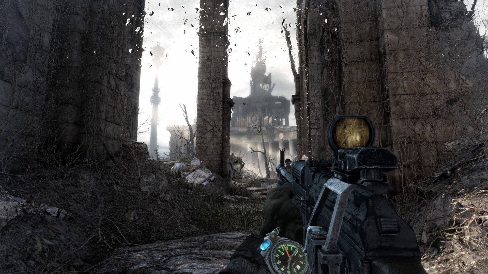metro redux review the definitive way to play metro 2033. Black Bedroom Furniture Sets. Home Design Ideas