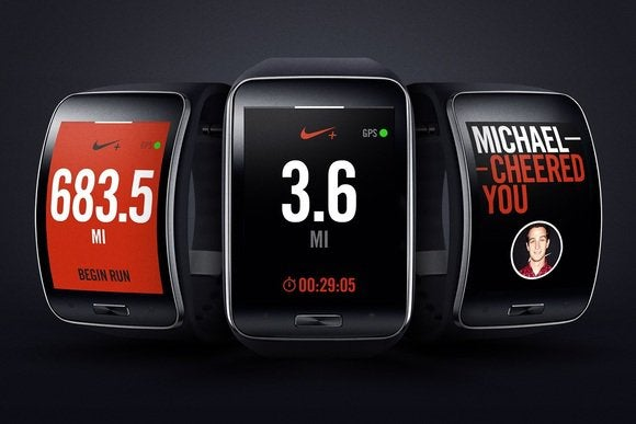 nike on Samsung's Gear S