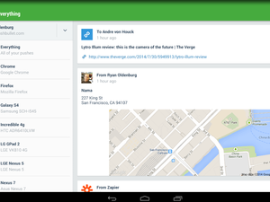 Pushbullet revamps interface with sleek, Material Design ...