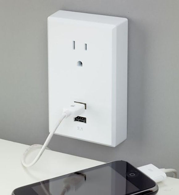 usb charge outlet