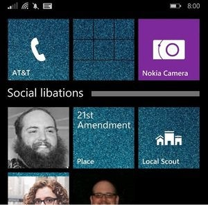 windows phone 8.1 update folder