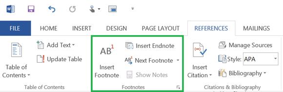 1 adding footnotes and endnotes