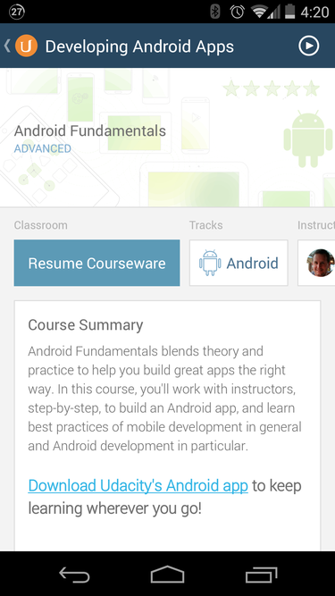 android udacity