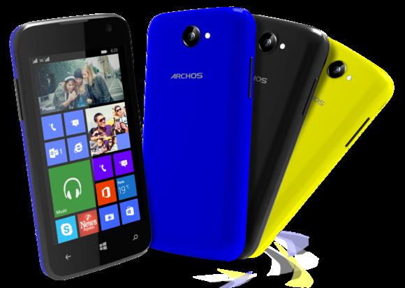 archos windows phones Cesium 40