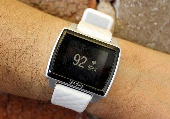 basis peak on wrist