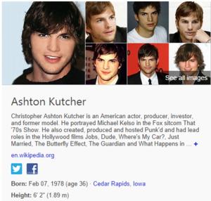 bing ashton kutcher