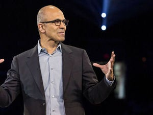 nadella this big