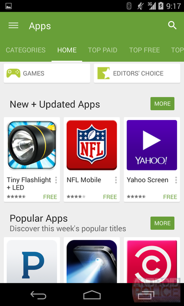 play store apps