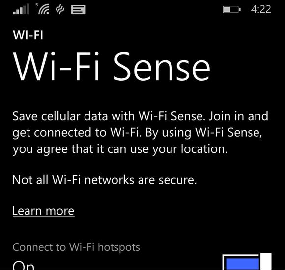 wifi sense crop Microsoft Windows Phone