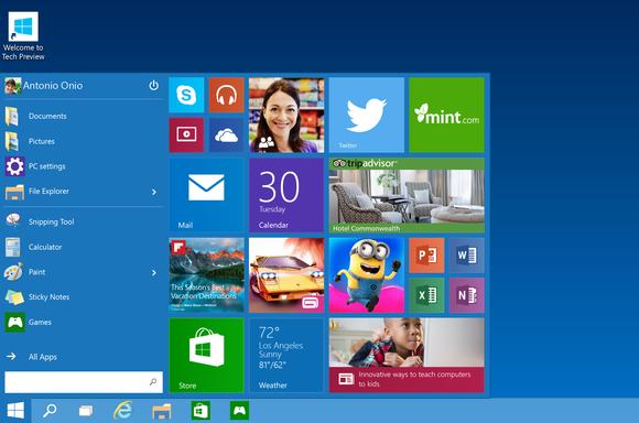 Sai primeira atualização para Windows 10 Technical Preview