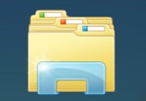 windows file folder bigger