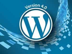 WordPress 4.0 logo