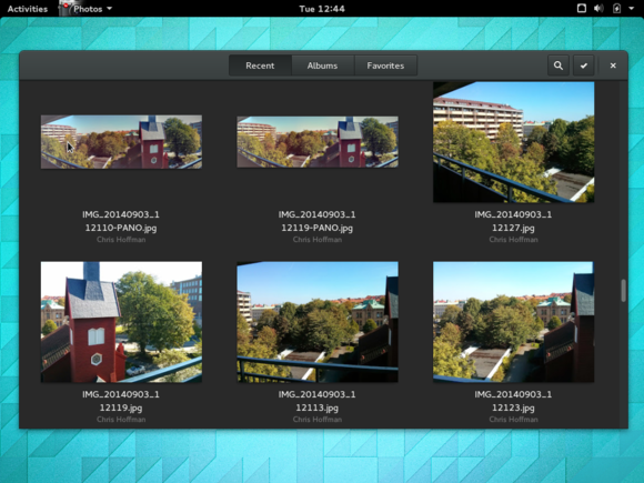 3 gnome 3.14 photos with google photos