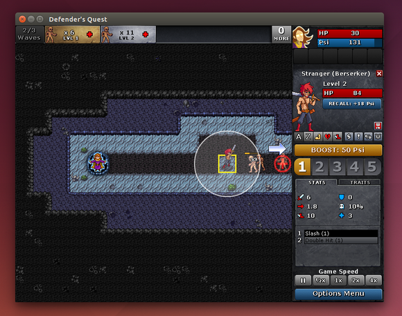 3.3 defenders quest adobe air game on linux