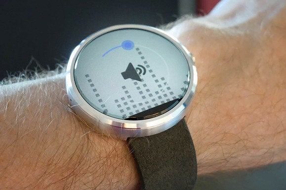 android wear volume
