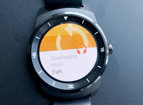 android wear loading music