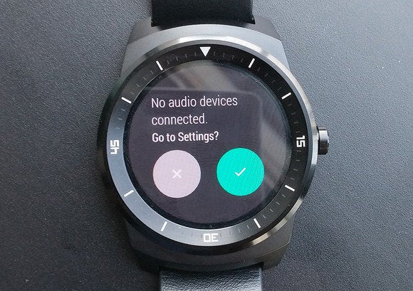 android wear pair to headphones