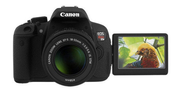 canon eos t5i front