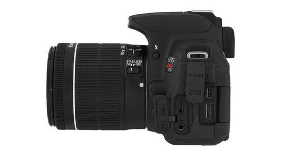 canon eos t5i side