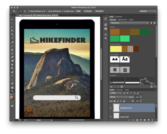 creative cloud libraries in photoshop cc