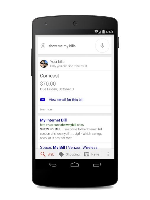 Awesome New Google Now Feature Helps You Keep Track Of