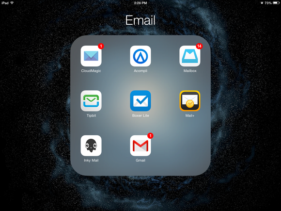 ios email apps
