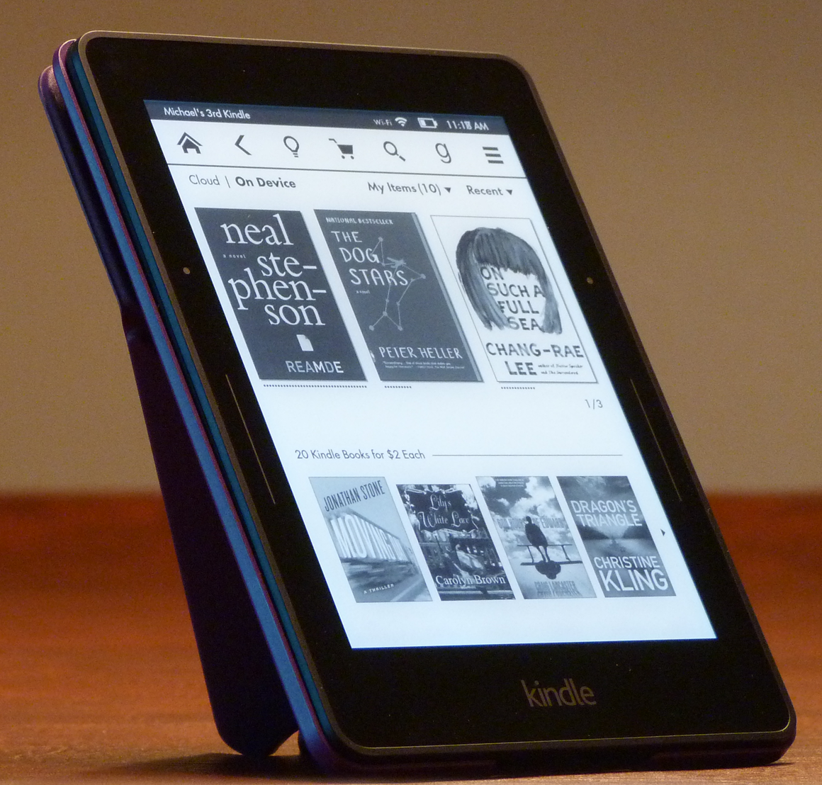 lighting up kindle Get a new kindle e-book reader here's how to set it up the right way so you're reading in no time.