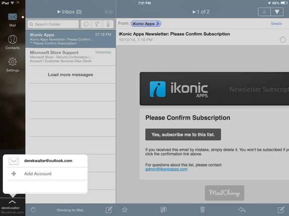 mail plus for outlook