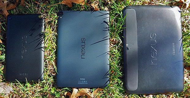 Nexus 9 vs Nexus 7 vs Nexus 10