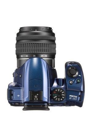 pentax k50 blue top