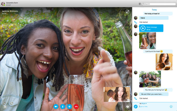skype for mac talk and chat
