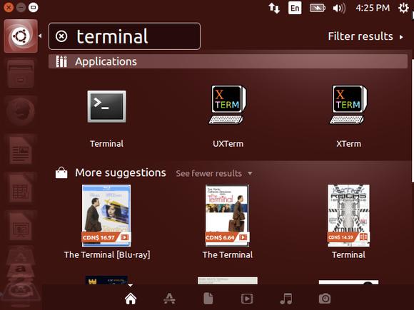 ubuntu amazon search results
