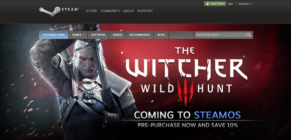 witcher 3 wild hunt linux announcement