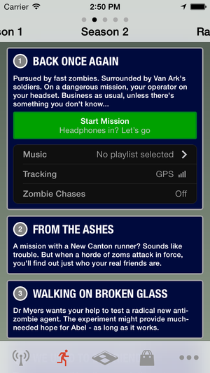 zombies mission