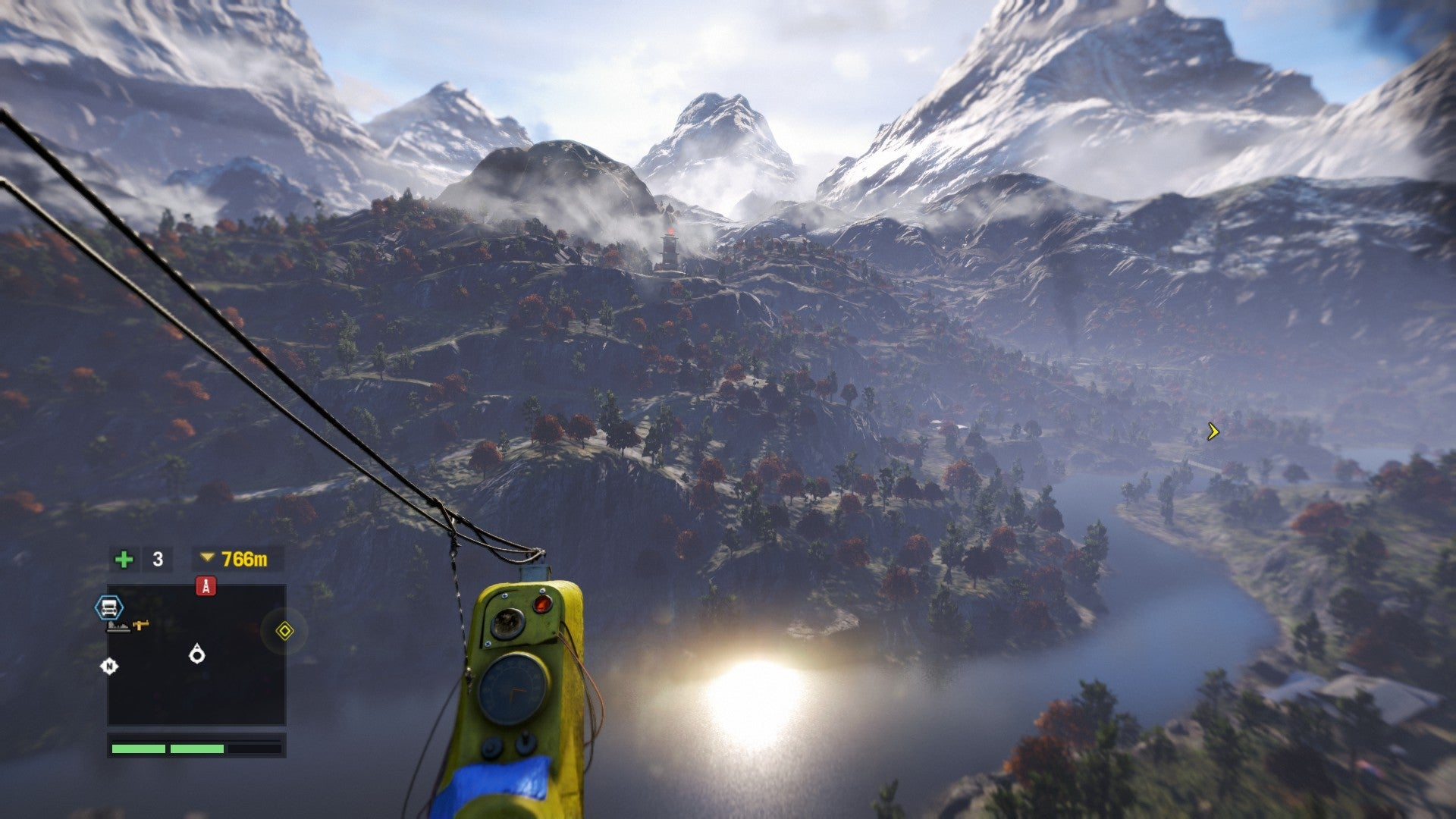comment avoir le wingsuit far cry 4