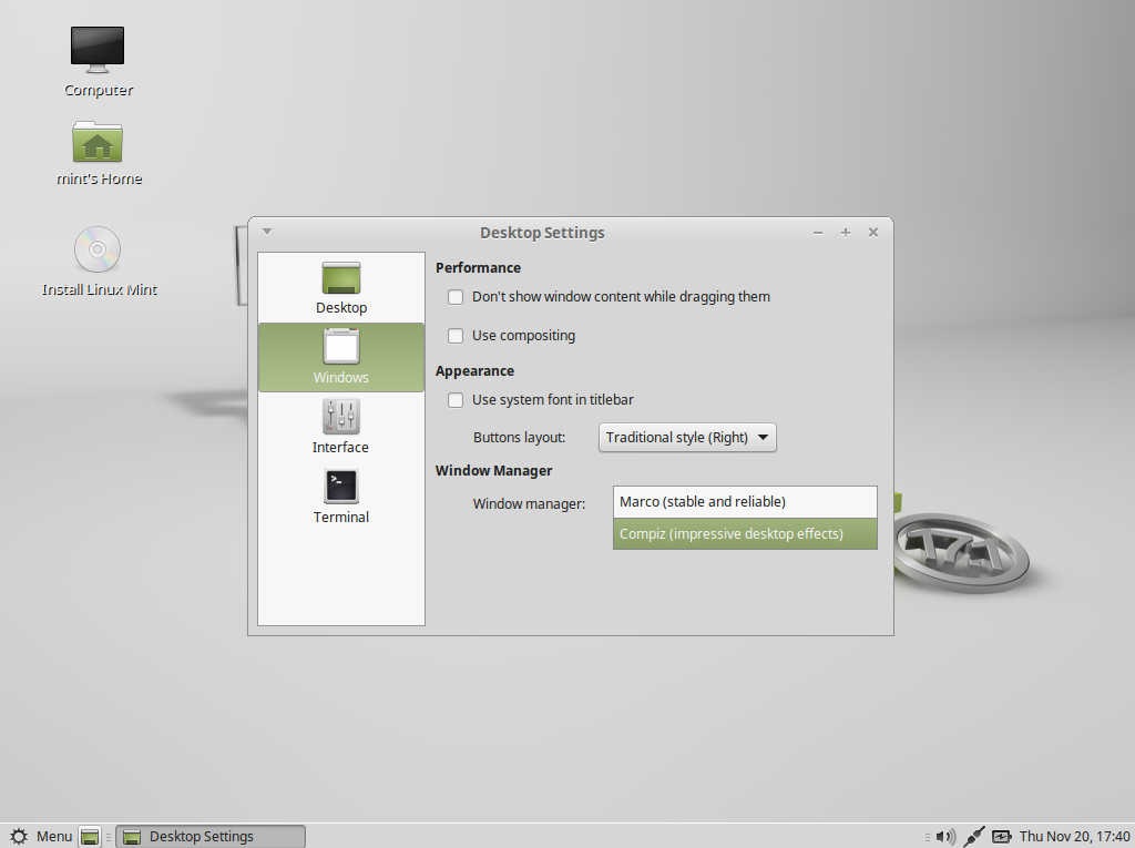 linux mint mate how to use