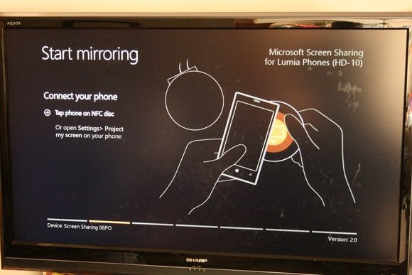 Microsoft Screen Sharing for Lumia Phones HD-10