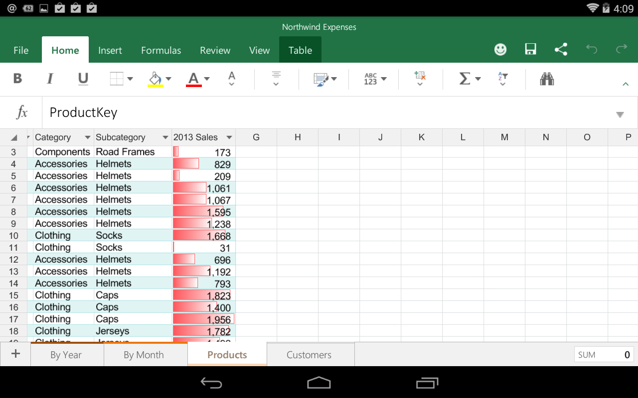 hands on with office for android preview  the productivity