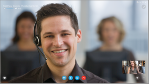 skype for business Microsoft videocall