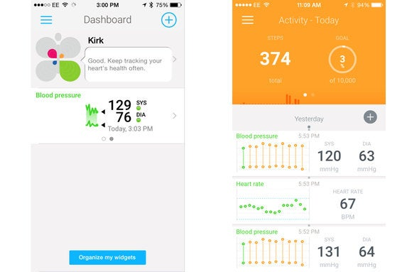 withings screens 2up