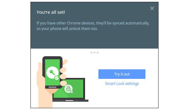 Android 5.0 Lollipop Chromebook Smart Lock