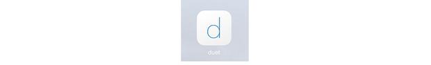 Duet iOS app icon.