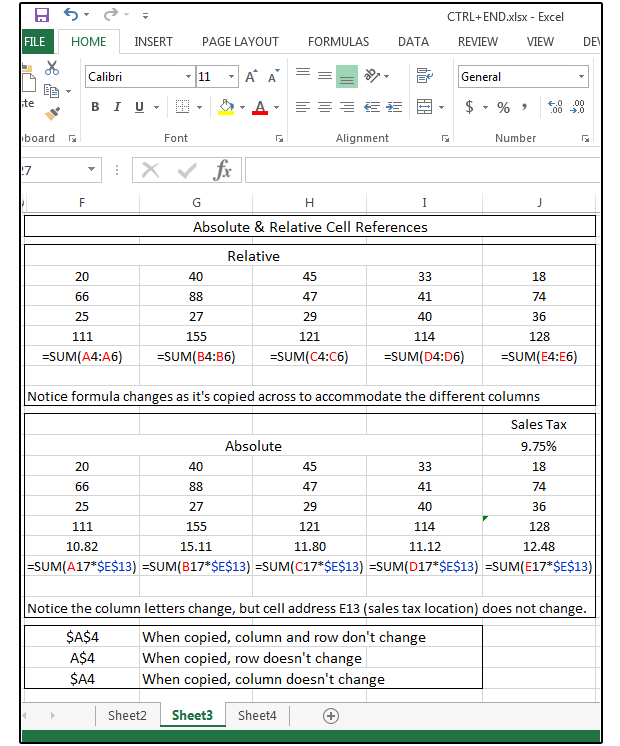 How to count and sum cells by color in Excel 2016 2013