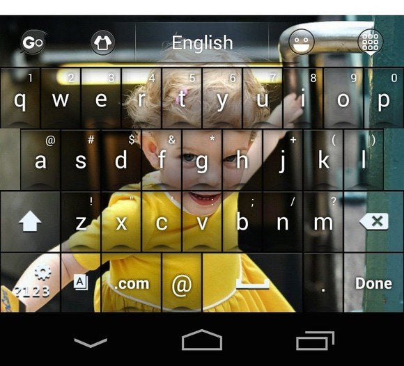 go keyboard customize