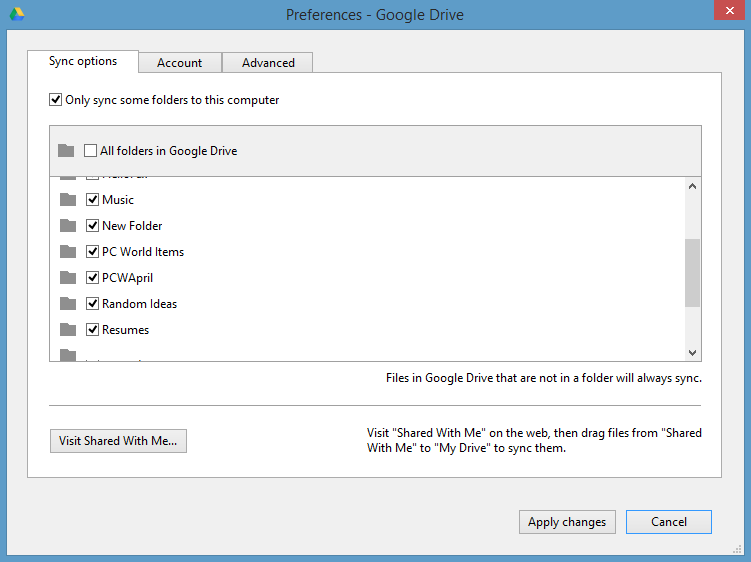 how to check google drive space